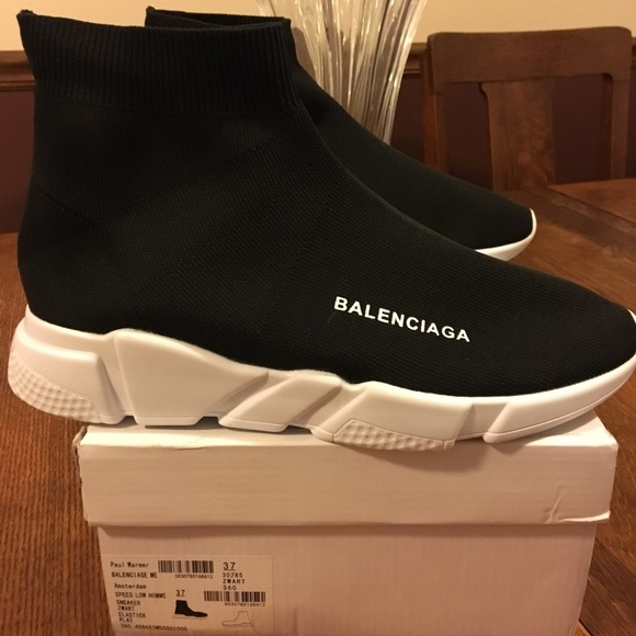 cd076cdf421 Balenciaga Speed Signature Trainer Sock Sneaker